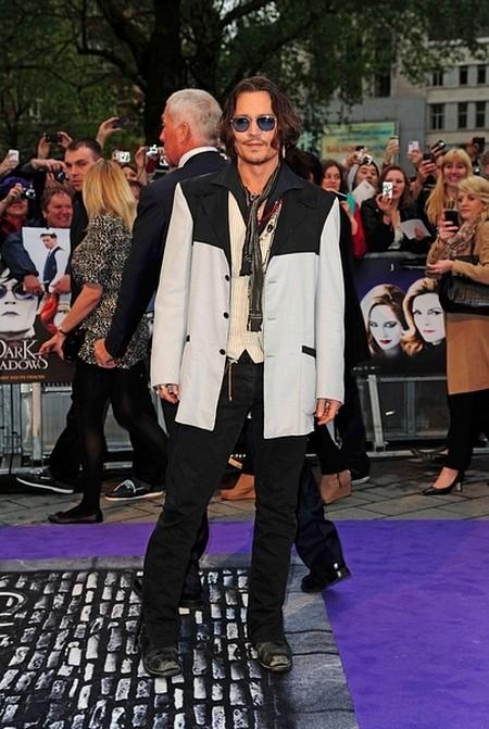Johnny Depp zaprzecza: Nie rozstałem się z Vanessą Paradis