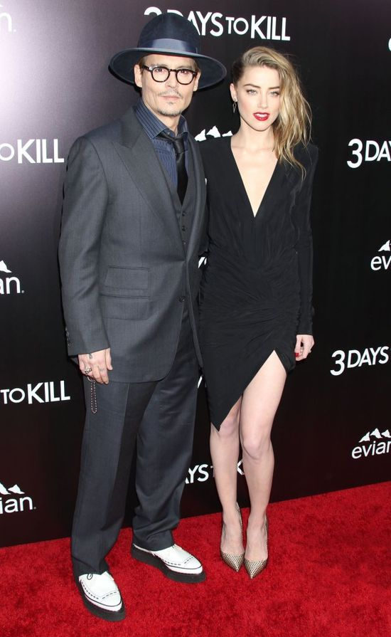 Amber Heard zosta�a �on� Johnny'ego Deppa!