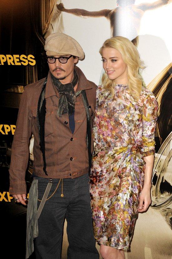 Johnny Depp mówi do Amber Heard: Kocham cię