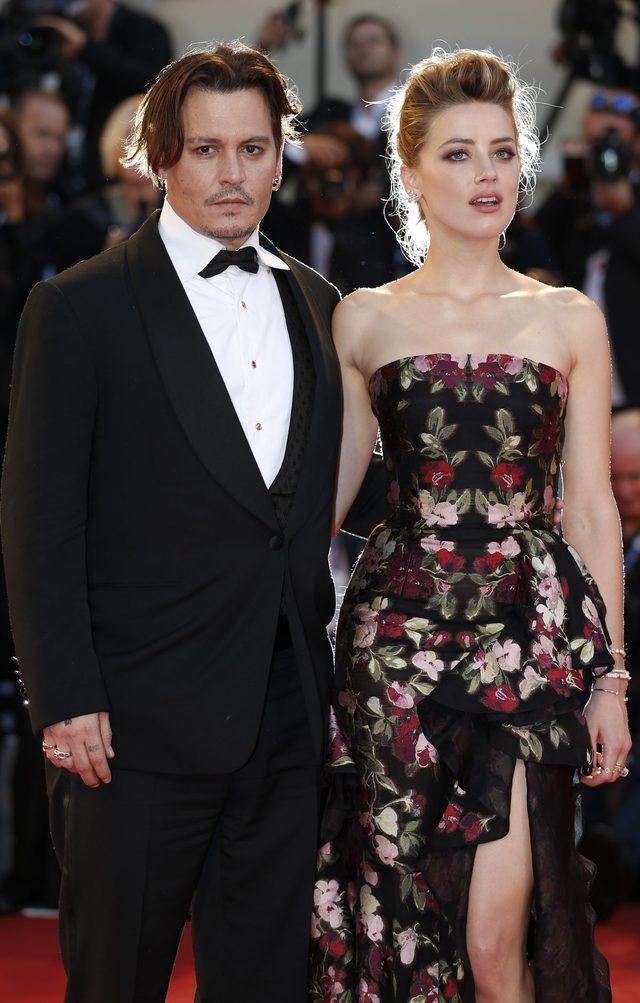 Depp i Heard w Wenecji dementuj� plotki o kryzysie (FOTO)