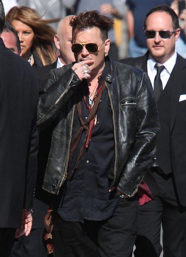 Johnny Depp nie marnuje czasu