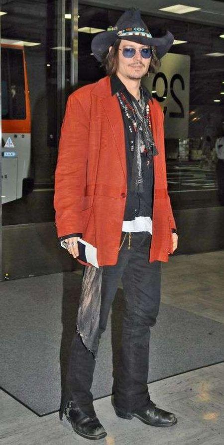 Johnny Depp spotka� si� z sobowt�rem (FOTO)