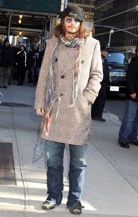 Nieodpowiedzialny Johnny Depp