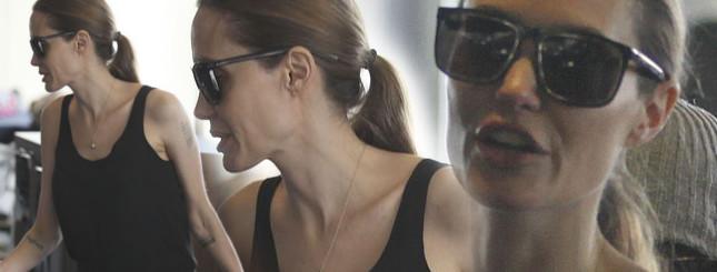 Angelina Jolie waży mniej, niż gdy miała 16 lat! (FOTO)