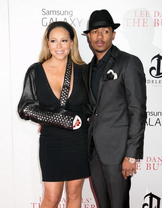 Trik Mariah Carey na złamaną rękę