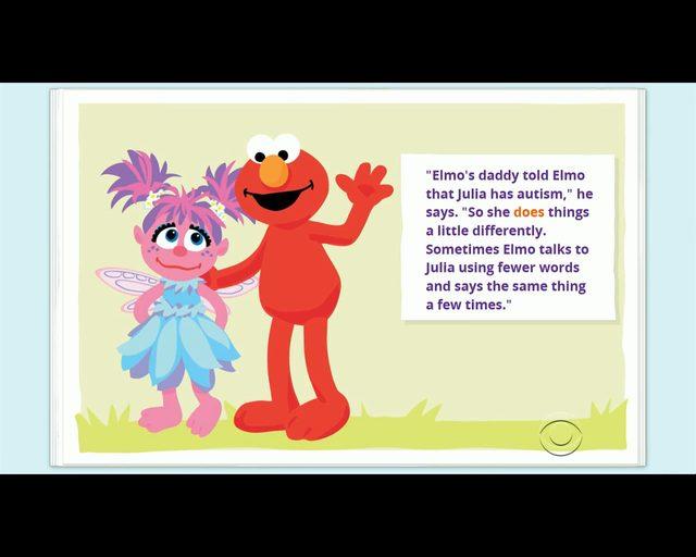 Julia, dziewczynka z autyzmem, bohaterką Ulicy Sezamkowej