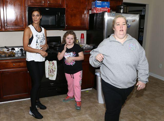 Mama June Shannon schudła do rozmiaru 38, ale NIE POKAZAŁA się jeszcze nikomu