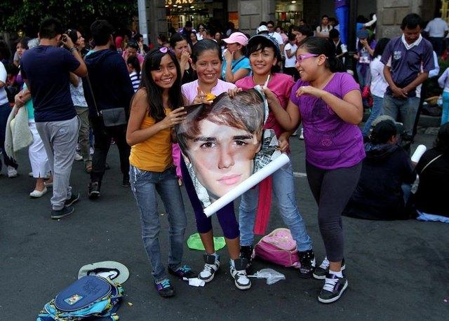 Szał nastolatek na koncercie w Meksyku (FOTO)