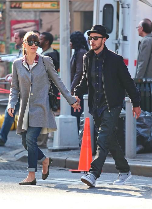 Timberlake i Biel na randce w kinie (FOTO)