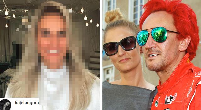 Nowa fryzura żony Michała Wiśniewskiego. Chciała wyglądać jak jego córka?