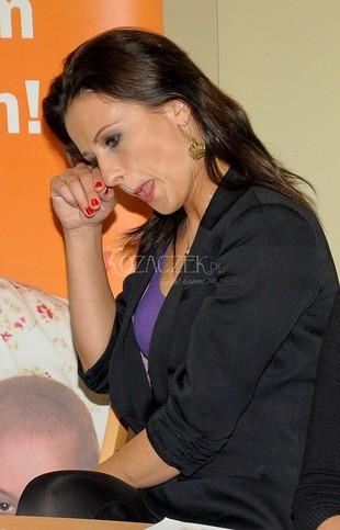Czyżby paproch w oku Anny Świątczak? (FOTO)