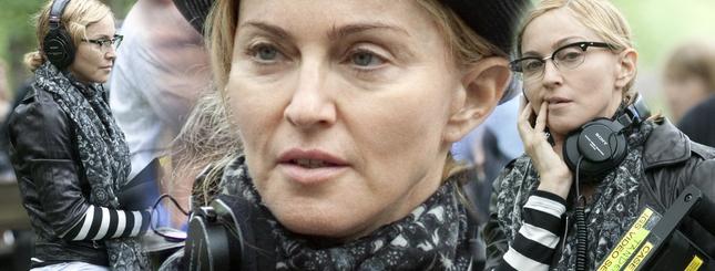 Madonna bez makijażu na planie swego filmu (FOTO)