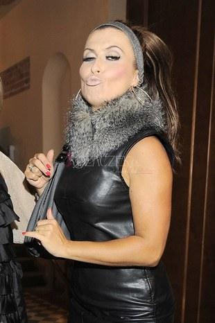Kasia Skrzynecka seksowna w skórzanej sukience (FOTO)
