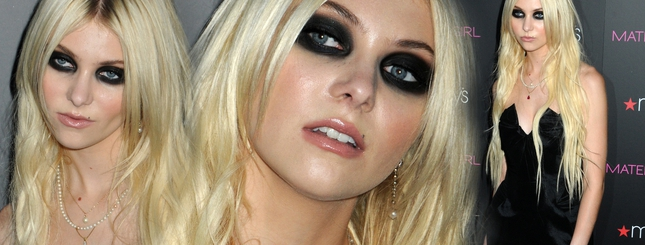 Taylor Momsen i jej wielkie, straszne oczy (FOTO)