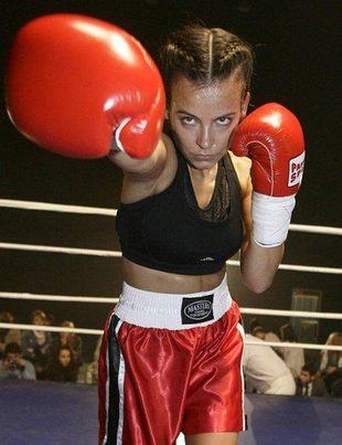 Anna Mucha jako bokserka (FOTO)