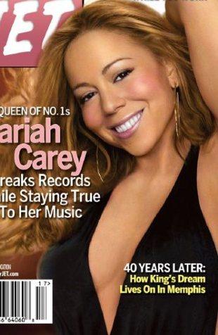 Mariah Carey - tak puszysta chyba jeszcze nie była