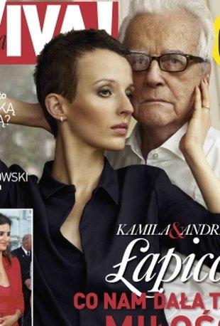 Kamila i Andrzej Łapiccy na okładce Vivy! (FOTO)