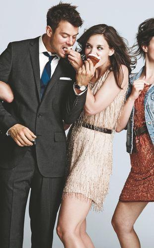 Romantyczne pozy Katie Holmes i Josha Duhamela dla J. Crew
