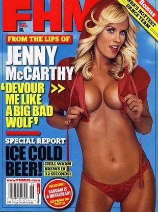 Jenny McCarthy żałuje, że nie ma seks-taśmy