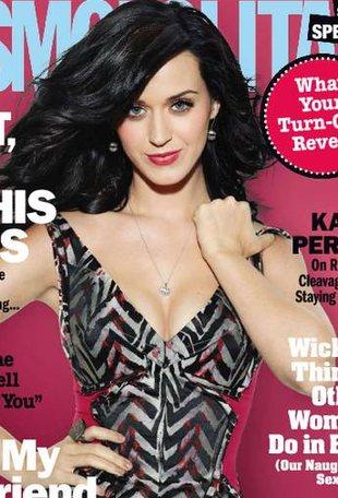Katy Perry w stylu Cosmo (FOTO)