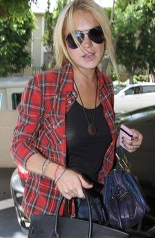 Lindsay Lohan próbowała uciec z odwyku