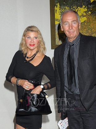 Karol Strasburger pochwalił się żoną... (FOTO)