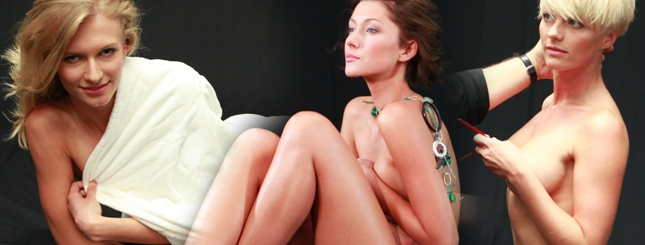 Naga sesja dziewczyn z Top Model (FOTO)