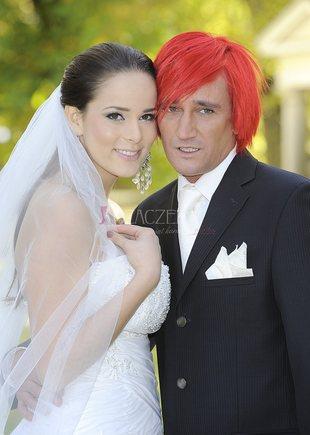 Wiśniewski na ślubnym kobiercu z Paulą Marciniak (FOTO)