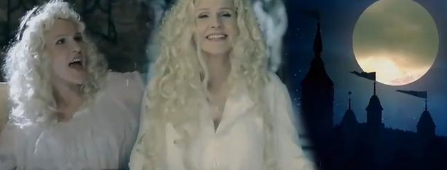 Agnieszka Chylińska w kręconych blond włosach VIDEO