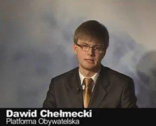 Kompromitująca wpadka Dawida Chełmeckiego [VIDEO]
