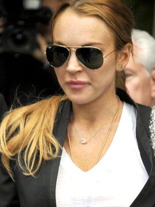 Lindsay Lohan i jej pokłute usta (FOTO)
