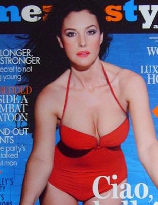 Monica Bellucci - gorąca, choć ma już 46 lat! (FOTO)