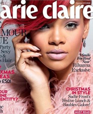 Rihanna na dwóch okładkach Marie Claire (FOTO)