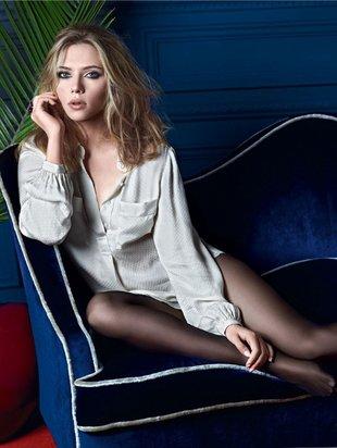 Gorąca Scarlett Johansson reklamuje zimową kolekcję (FOTO)