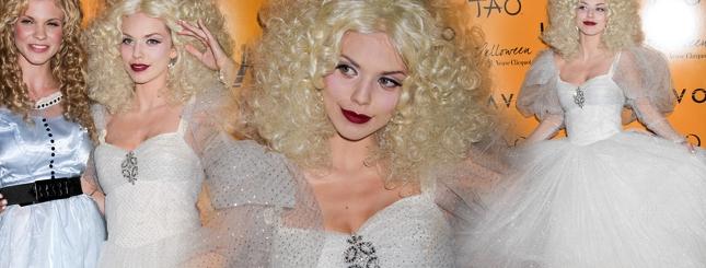 AnnaLynne McCord - biała królowa Halloween? (FOTO)