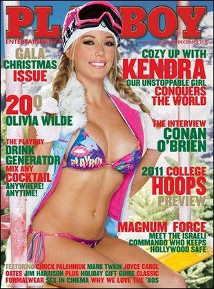Kendra Wilkinson na okładce grudniowego Playboya (FOTO)