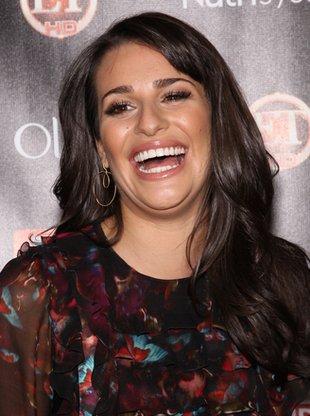 Lea Michele - uśmiech godny Julii Roberts (FOTO)