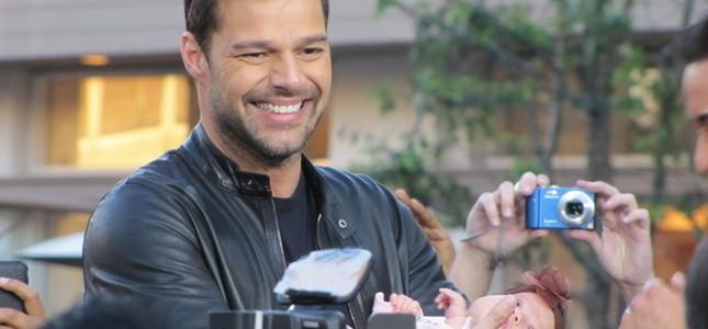 Ricky Martin zamienia się w misiaczka (FOTO)