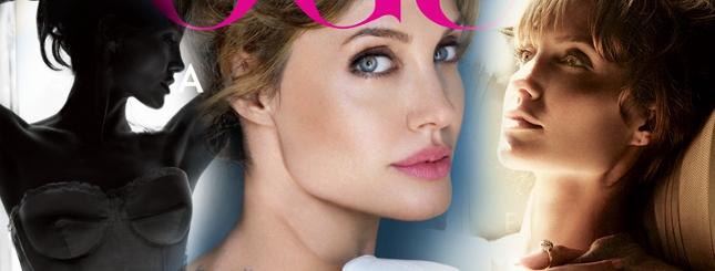 Angelina Jolie króluje w Vogue (FOTO)