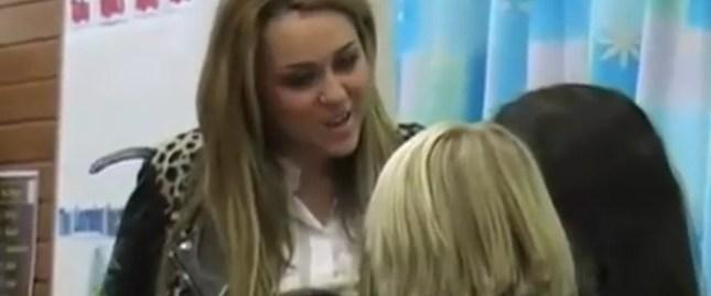 Dzieci kochają Miley Cyrus [VIDEO]