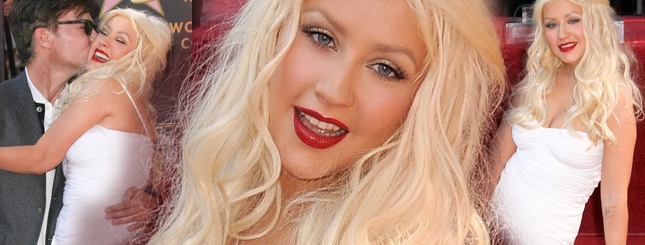 Christina Aguilera ma gwiazdę w Hollywood (FOTO)
