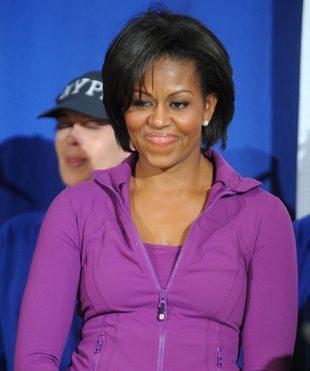 Michelle Obama w dresach (FOTO)