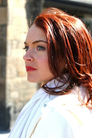 Lindsay Lohan znów jest ruda!