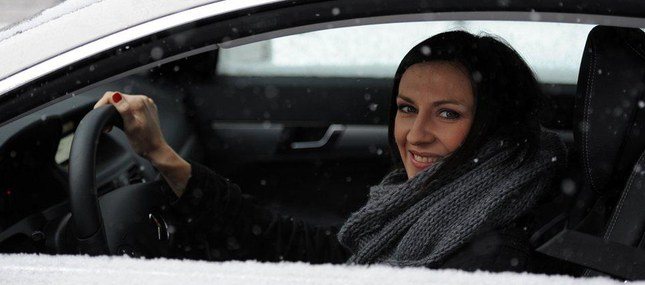 Monika Pyrek już jeździ nowym mercedesem (FOTO)