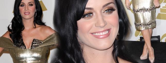 Katy Perry cała w złocie (FOTO)