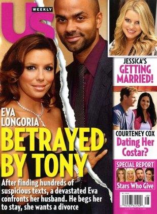 Eva Longoria spotkała się z Tonym Parkerem