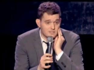 Co zaskoczyło Michaela Buble? [VIDEO]