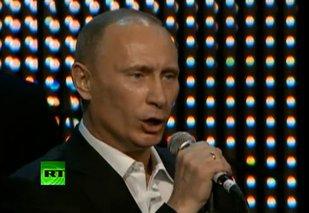 Putin bawił się z gwiazdami kina [VIDEO]