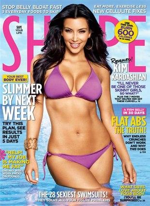 Kim Kardashian idzie na dietę!