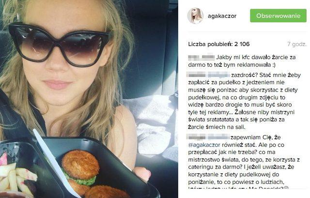 Fanka skrytykowała Agnieszkę Kaczorowską za TO zdjęcie